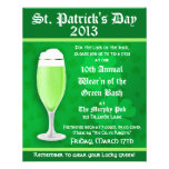 St. Patrick's Day Beer Event Invitation Flyer