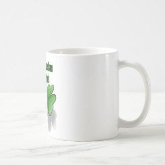 St. Patrick's Day, beware the leprechaun ninja's Basic White Mug