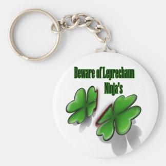 St. Patrick's Day, beware the leprechaun ninja's Keychains