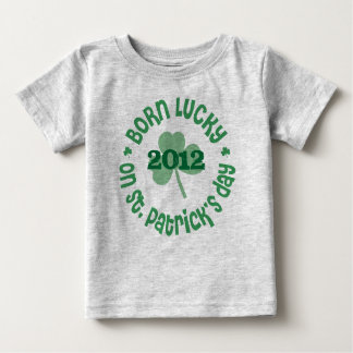 St. Patrick's Day Birthday Baby T-Shirt