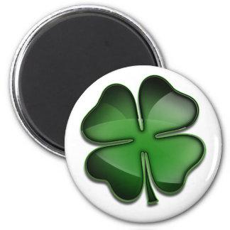 St. Patricks Day Bling 6 Cm Round Magnet