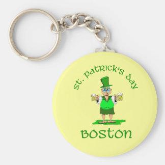 st patricks day boston gladys keychains