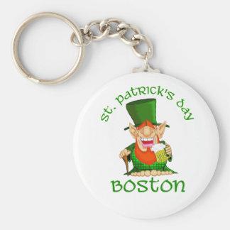 St Patricks Day Boston ~ Patty O Party Key Chain
