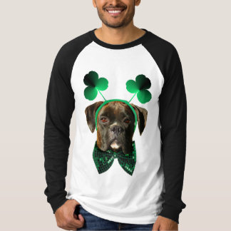 St. Patrick's Day Boxer shirt
