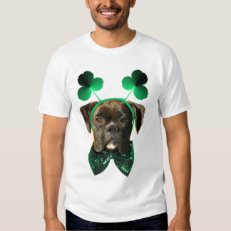 St. Patrick's Day Boxer Tank top