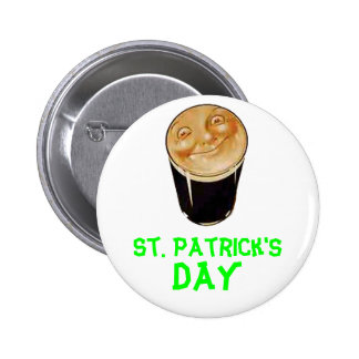 St Patrick's Day Button Irish Buttons