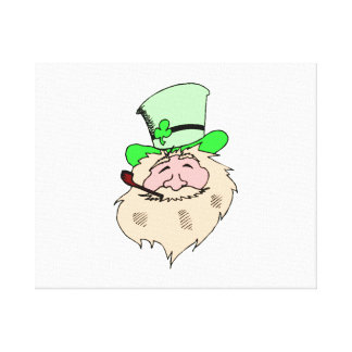 St. Patrick's Day Stretched Canvas Print