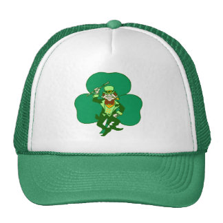 St Patrick's Day Cap
