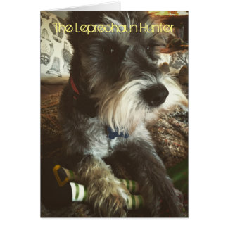 St Patrick's Day Card for Dog Lovers