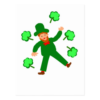St.Patrick's Day cards add name front Postcard