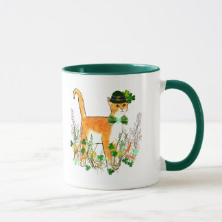 St. Patrick's Day Cat Mug