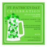 St. Patricks Day Celebration Party Invitation