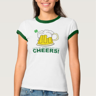 St. Patrick's Day - Cheers Tshirts