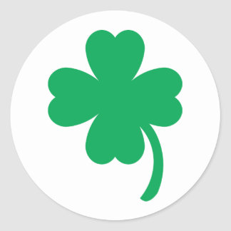 St. Patrick's Day Classic Round Sticker