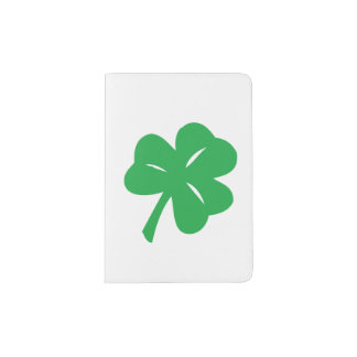 St. Patrick's Day Clover Leaf Passport Holder