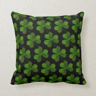 St. Patrick's Day Clover Pillow