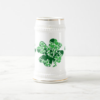 St. Patrick's Day Clover Stien - Customizable Beer Steins