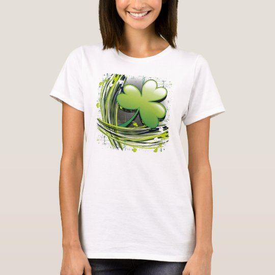 St Patrick's Day Clover T-Shirt