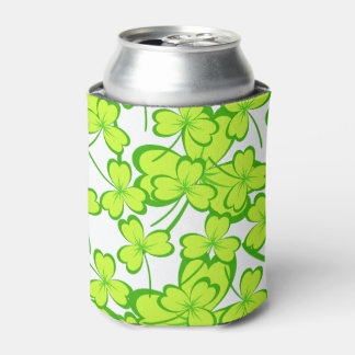 St. Patrick's Day Clovers - Can Cooler
