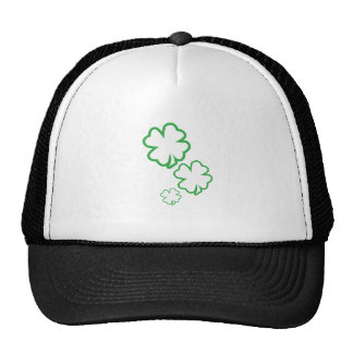 St. Patrick's Day Clovers Mesh Hats