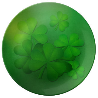 St. Patrick's Day - Clovers Plate