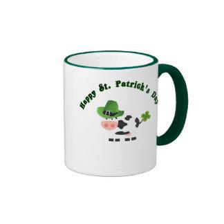 St Patricks day Coffee Mug Baby Cow