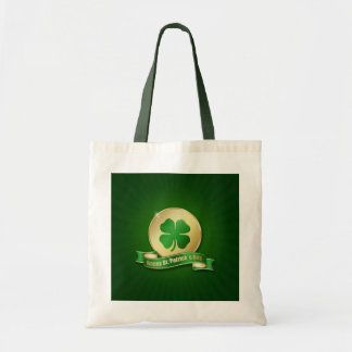 St. Patrick's Day Coin - Budget Tote