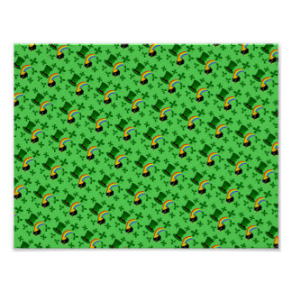St Patricks Day Collage Poster