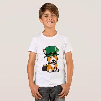 St. Patrick's Day Corgi Leprechaun Dog Puppy Doggy T-Shirt