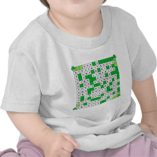 St Patrick's Day Crossword on T Shirts