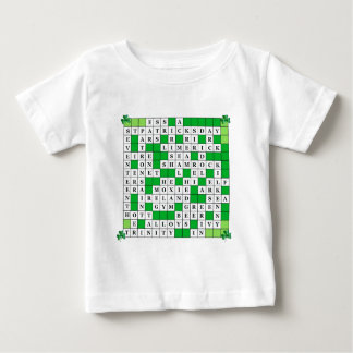 St Patrick's Day Crossword on Tshirts