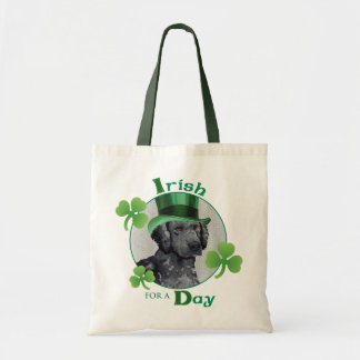 St. Patrick's Day Curly-Coated Retriever Tote Bag