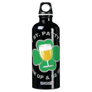 St. Patrick's Day custom name travel bottles SIGG Traveller 0.6L Water Bottle