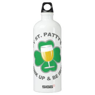 St. Patrick's Day custom name travel bottles SIGG Traveller 1.0L Water Bottle