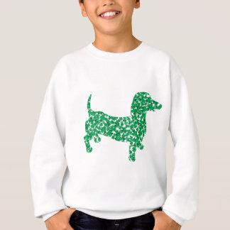 St. Patrick's Day Dachshund Sweatshirt