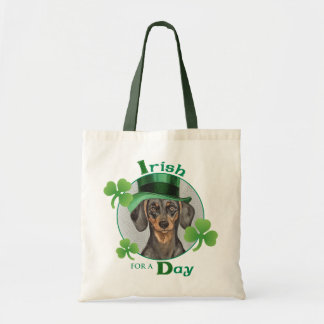 St. Patrick's Day Dachshund Tote Bag