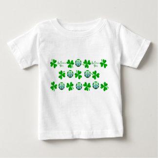 St. Patrick's Day design Baby-Jersey-T-Shirt-White Shirt