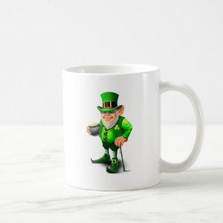 st patricks day designs basic white mug