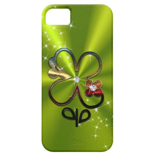 ST PATRICK'S DAY Diamond Shamrock Monogram iPhone 5 Covers
