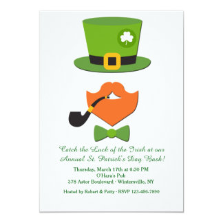 St. Patrick's Day Disguise Invitation