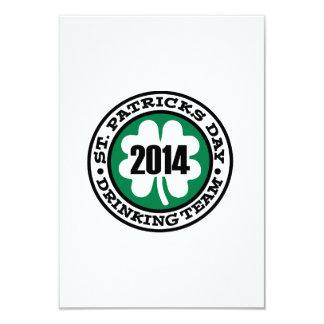 St. Patrick's day drinking team 2014 Invite