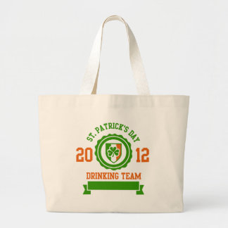 St. Patrick's Day Drinking Team Canvas Bags