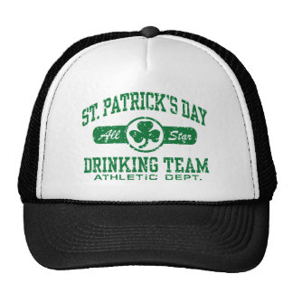 St. Patrick's Day Drinking Team Cap