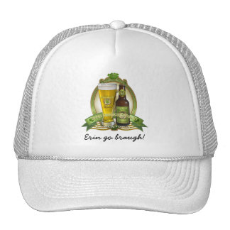 St. Patricks Day Drinking Team Hats
