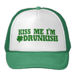 St Patricks Day Drunkish Cap