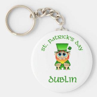 St Patricks Day ~ Dublin Key Chains