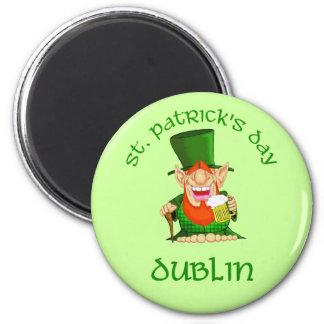 St Patrick's Day ~ Dublin Magnet