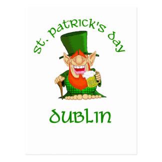 St Patrick's Day ~ Dublin Postcard