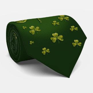 St. Patrick's Day   Elegant Unique Shamrocks Tie