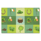 St. Patrick's Day Elements Tissue Paper